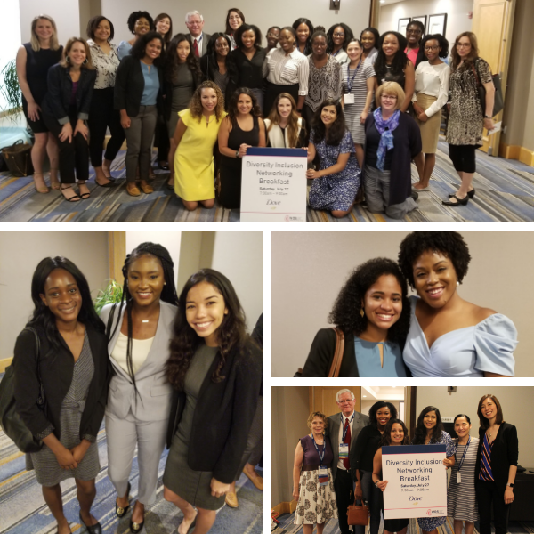 Diversity Inclusion Networking Breakfast at the 2019 Summer AAD