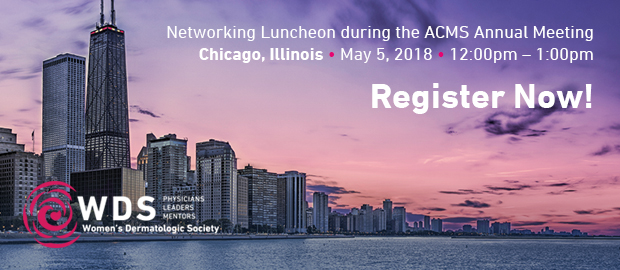 Register for the WDS Luncheon at the ACMS Annual Meeting